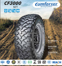 COMFORSER 33/12.5-15 mud terrain tire radial passenger car tire supplier scrap tyre suppliers in dubai