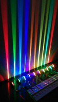 Best price 11 colors alibaba RGB hotel lamps with outlets