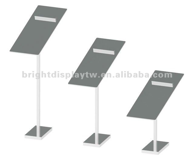 Shoe display riser set for shop fitting/ Retail display stand for shoes