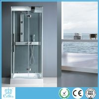 With Frame Style white ABS back steam shower room/shower cabin