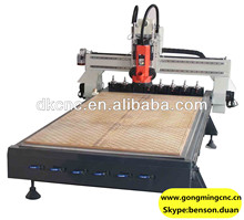 Linear ATC auto tools change wood cnc router for furniture with CE