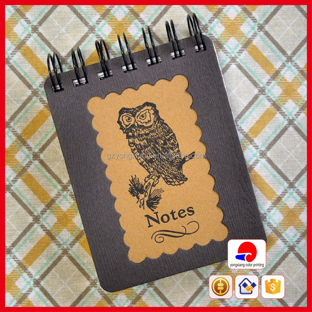Factory price mini spiral note book with ball pen spiral notebook/exercise book