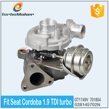 OEM Turbocharger Manufacturer GT1749V 701854-5004S fit Volkswagen Polo III 1.9 TDI