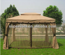 New Designed Double Roof Outdoor Gazebo With Netting