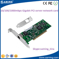 10/100/1000mbps mini pci lan ethernet card with bracket