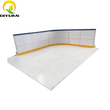 uhmwpe synthetic ice rink sheet ice skate board for blade skate