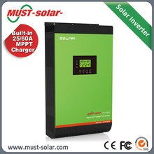 Single Phase 220v solar inverter portable generators 4kw solar hybrid inverter off grid on grid