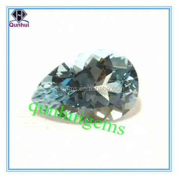 lovely any color pear shaped beautiful cubic zirconia stone