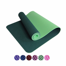 2017 yoga mat with strap, yoga mat eco pattern, eco yoga mat private label