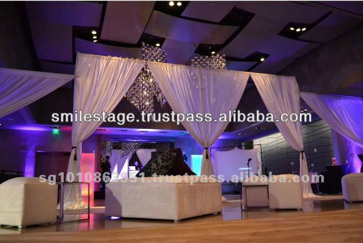 party tent elegant drapes curtains