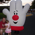 HOLA hand mascot costume/finger mascot costume for adult