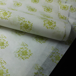 Custom logo printed wrap tissue paper for burger