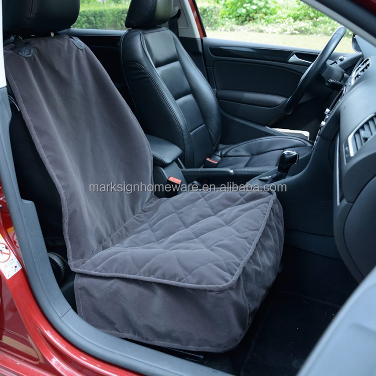 waterproof quilted suede pet bucket seat cover buy pet car seat cover pet bucket seat cover. Black Bedroom Furniture Sets. Home Design Ideas