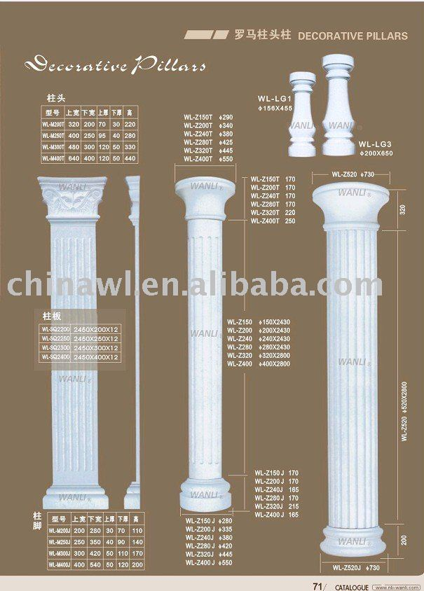 european roman pillar capital gypsum decoration buy capital