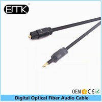 EMK Wholesale Optical TOSLink Digital Audio Cable for Xbox 360, PS3, Tivo, HDTV, A/V Receiver, Cablebox