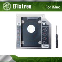 2nd Hard Drive HDD SSD Optical bay Caddy for iMac 2009 2010 2011 Swap AD-5670S AD-5680H AD-5690H DVD superdrive