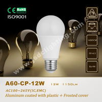 A60 LED GLOBAL BULB 12W 1200LM E27 LIGHT 110V