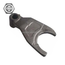 Stainless steel casting parts/cast iron lost wax casting/ investment castings car gear shift fork