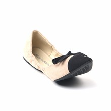 Fashion Foldable Ballroom Nude Color Dance Shoes Girls