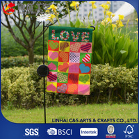 Sports Events Outdoor Advertisements Polyester Garden Flag