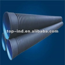 HDPE double wall corrugate tube and pipe