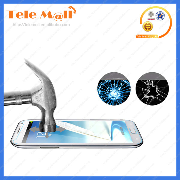 Anti-shock & tempered glass screen protector for Samsung galaxy note 2 n7100 oem/odm (Glass Shield)