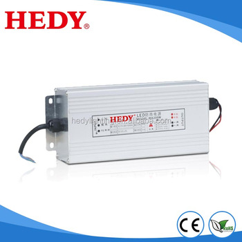 Factory best quality constant voltage single output 8.5A led driver switching mode waterproof 200w 24v dc linear power supply