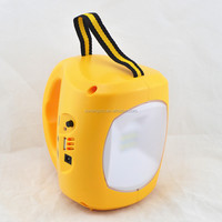 solar power charged solar camping light charger 0.5w 9 led solar camping lantern