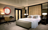 luxury hotel room ,Bed room furniture for hotel YCR005