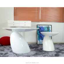 Mushroom shape fiberglass teapoy replica coffee table by japanese