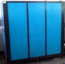 containerized water chiller for concrete cooling system