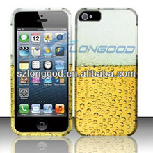 New Hard PC Cute Pattern Skin Case Cover Back Fitted for iPhone 5 5S 5G