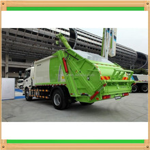 LHD or RHD DONGFENG 6wheels compress garbage truck,compression garbage truck, compactor garbage truck