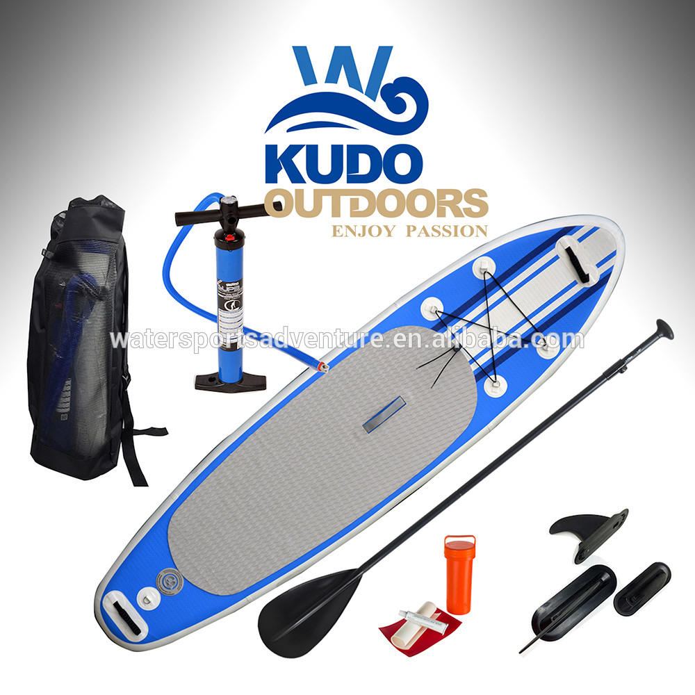 Factory supply 11ft soft top inflatable sup stand up paddle board