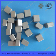 Tungsten carbide wear parts for snowplow and road machinery