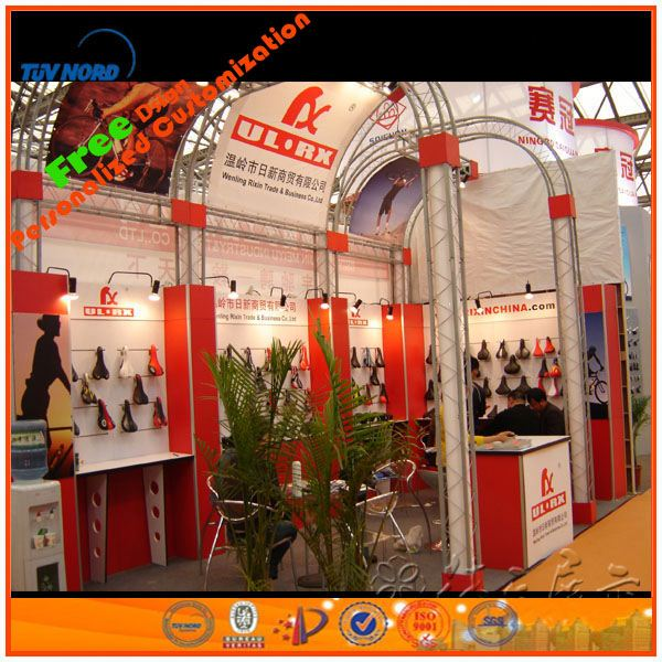 exhibition truss,expo fair,exhibition display booth from Shanghai