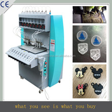 8 color silicone label making machine, silicone dispensing machine, silicone label production line