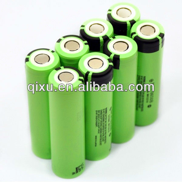 Pana-sonic 3400mAh 186503.7V rechargeable lithium battery