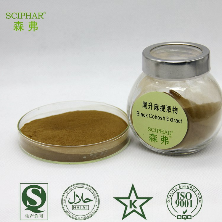 Top Quality Organic Black Cohosh extract 2.5% Saponins Test by HPLC