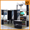 booth high quality exhibition displays, paper trolley box