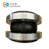 OEM easy installation single sphere rubber expansion joint in hydraulic parts for valves