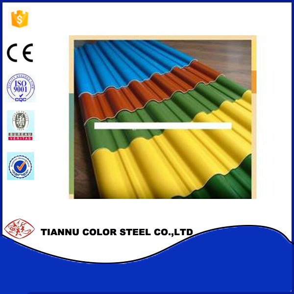 20% off Building Materials Colorful Steel Sheets tile/PPGI/Zinc / Corrugated roofing tile