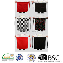 two style Aprons,100% MJS spun polyesty apron,cooking