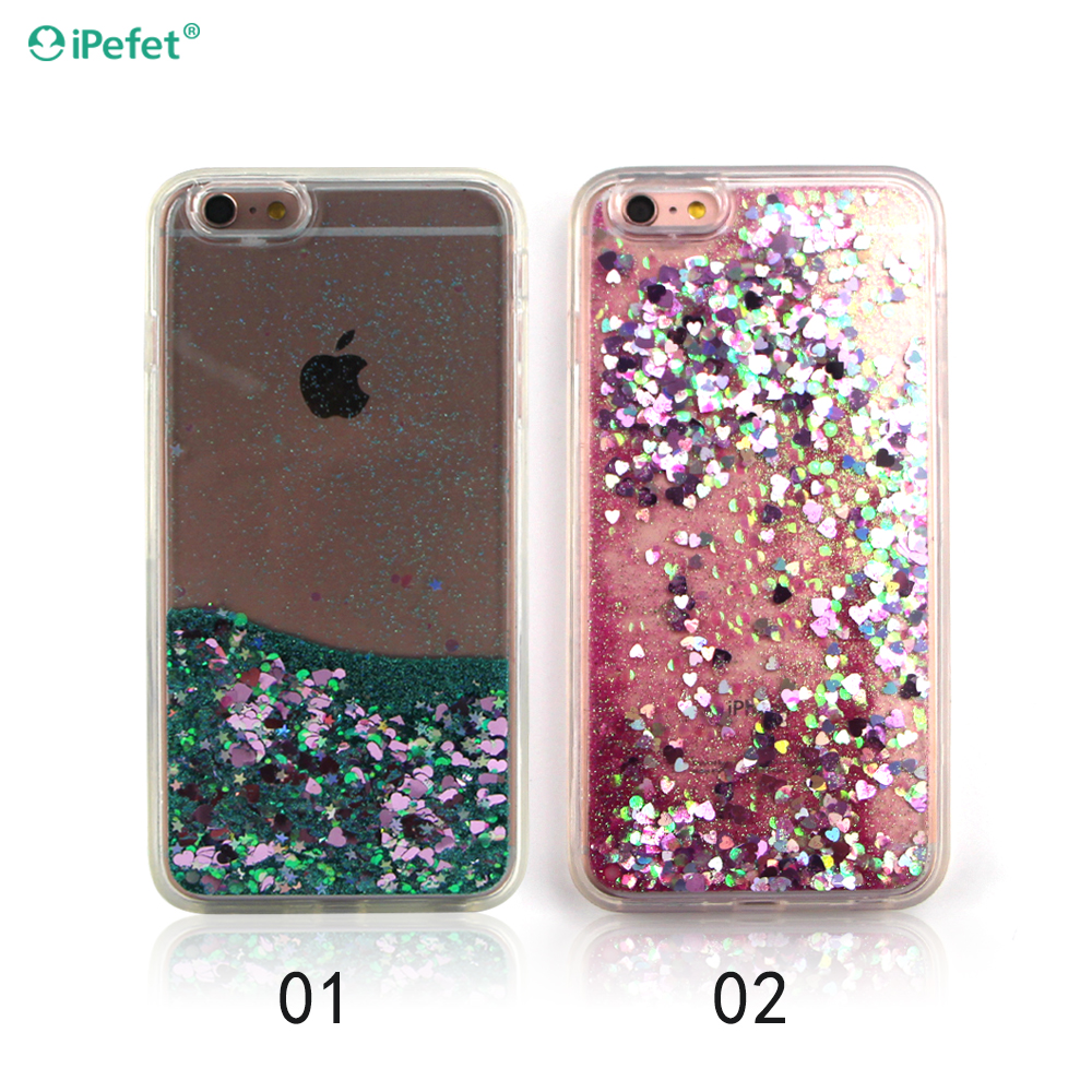 Liquid Glitter Sand Star Crystal Phone Cover Case For iPhone 6