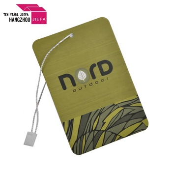 High Quality Custom Paper Hang Tag With Logo Printing for Garment Use