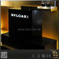 Special black paint perfume display table