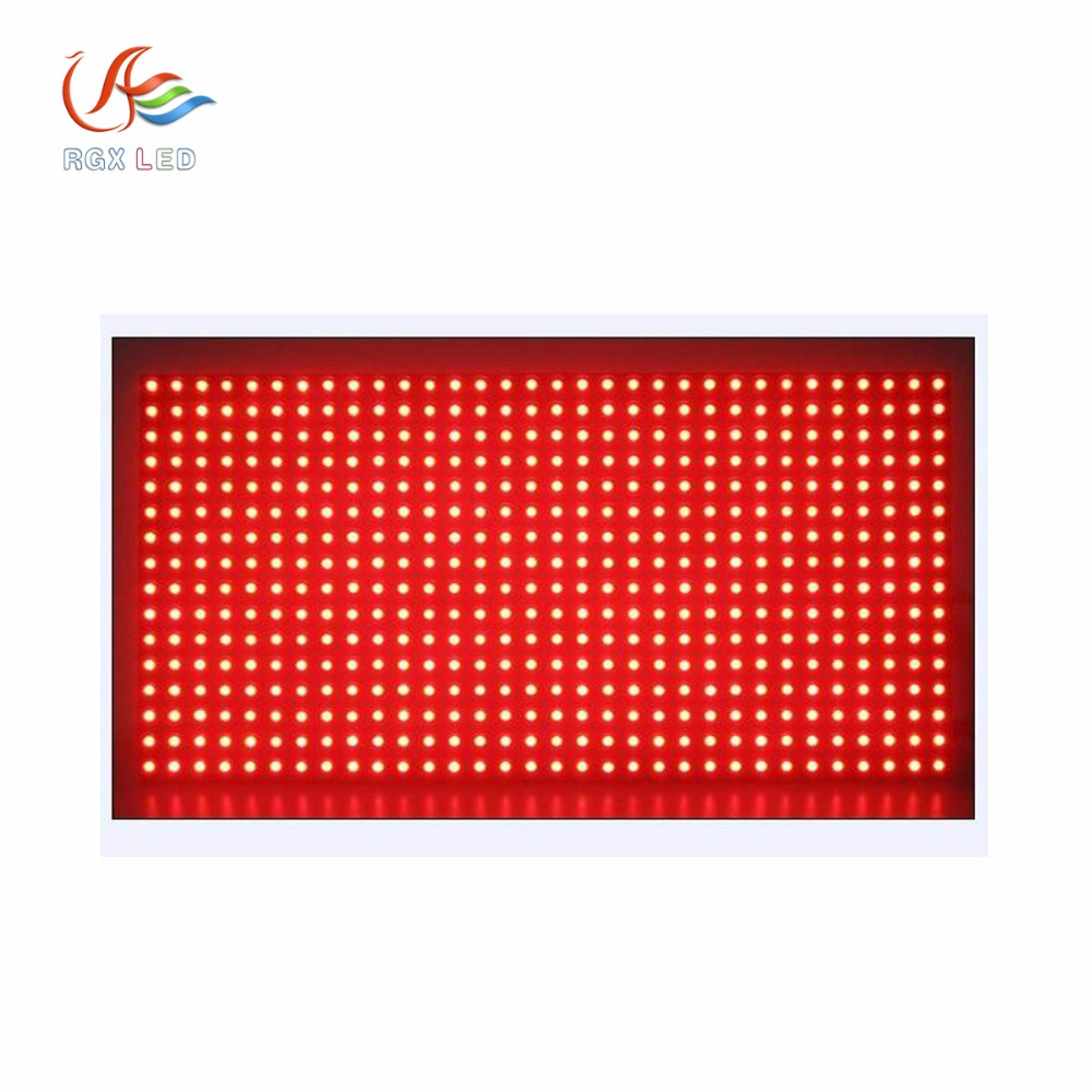 Shenzhen Rgx <strong>P10</strong> Dip Outdoor Red Monochrome Led Display Module <strong>P10</strong> Single Color Led Display