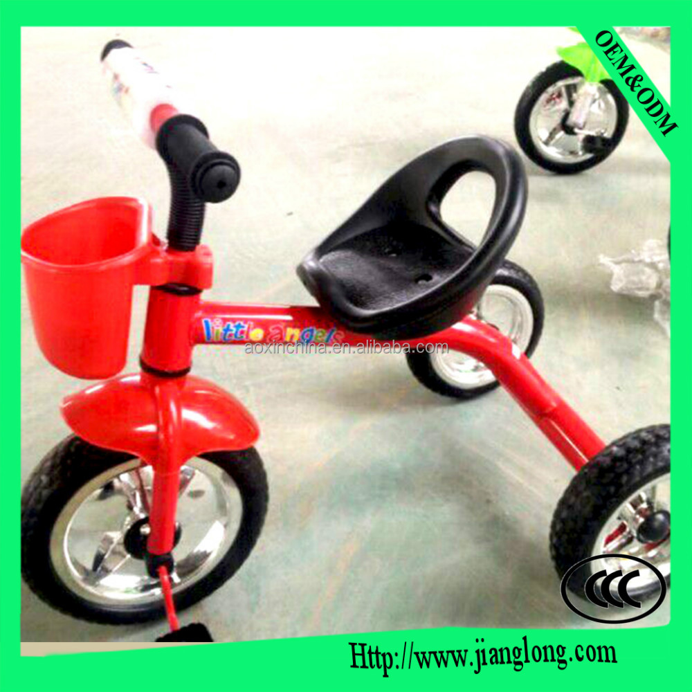 High quality 2 seat child tricycle and children tricycle for twins with 3 wheel