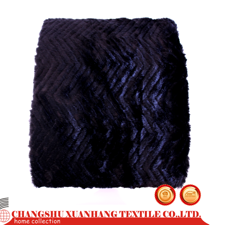 Super Soft mongolian lamb fur blanket with low price