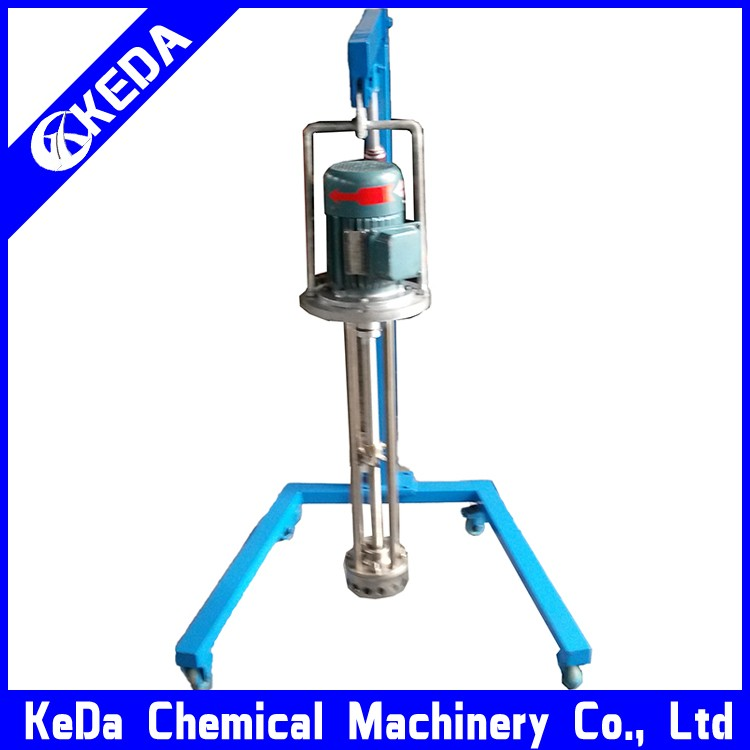 Cosmetic <strong>chemicals</strong> stainless steel vacuum emulsifying mixer